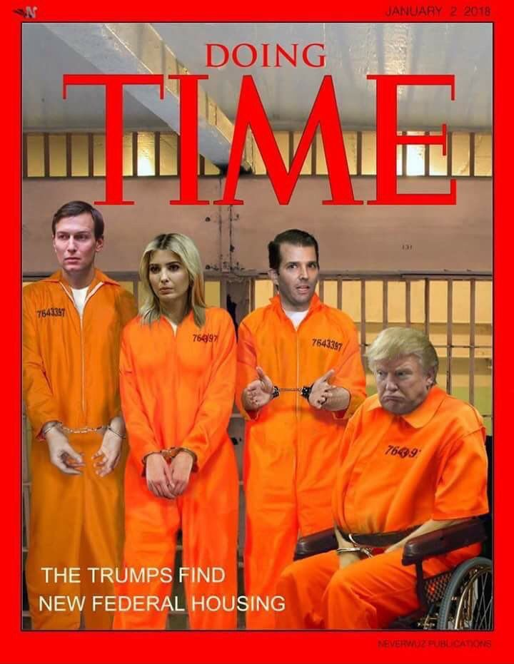 """""""Lock THEM Up!"""" ~ HEY TRUMP SUPPORTERS: Are you feeling GREAT yet? YOU Deplorables are responsible for everything GREAT that Trump does now. No more blaming Obama or Hillary. All of the lying and treasonous BS that Trump does belongs to YOU. YOU bought the bull, now YOU have to deal with the S--T ! (The only thing this BLOTUS Twittler could do to lose your undying ignorant loyalty would be to magically turn black, brown, gay or into a woman!)"""