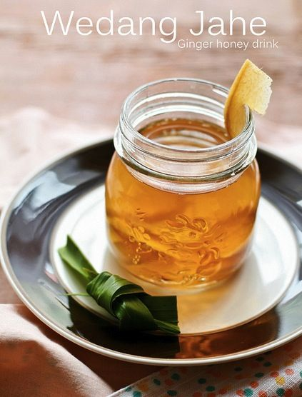 An Indonesian ginger tea recipe by Ira of CookingTackle