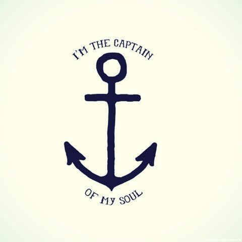 I am the master of my fate. I am the captain of my soul. - William Ernest Henley