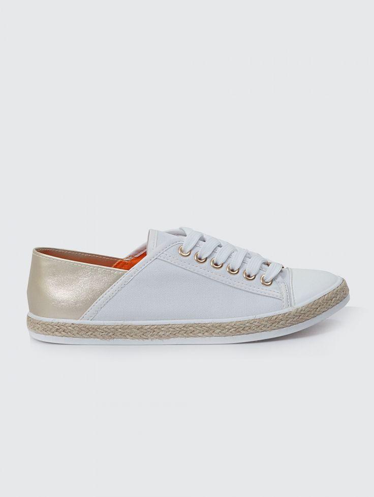 SNEAKERS ΜΕ ΣΧΟΙΝΙΝΗ ΣΟΛΑ 16-220 - The Fashion Project - Γυναικεία παπούτσια, ρούχα, αξεσουάρ