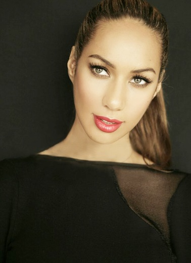 Leona Lewis. She is so gorg. female crush <3 ahhh
