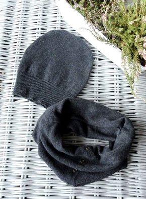 """W te zimne jesienne dni warto zadbać o siebie. Chyba każdy ze mną się zgodzi, że czapka plus komin bądź szalik na obecną pogodę jest niezbędny :) Przedstawiam Wam szary komplecik: czapka plus komin z ozdobnymi """"nitami"""". Na specjalne zamówienie :)  Więcej na moim fanpageu: https://www.facebook.com/wylegarniarozmaitosci/?ref=aymt_homepage_panel"""