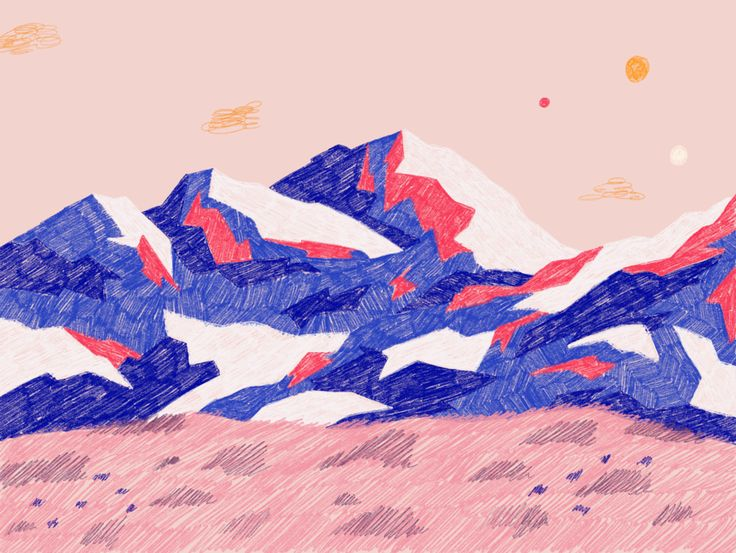 - 94f6a3d30986cf6bde6d6d875d64bfea - Misty Mountains designed by Liza Kobrazova. Connect with them on Dribbble; the global community for designers and creati…