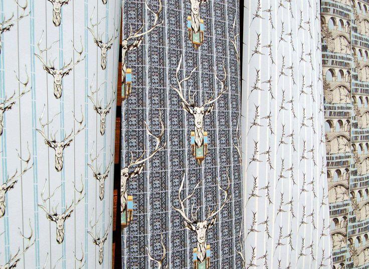 Bespoke wallpaper, coated non-woven 180 gsm. 52cm x 250cm