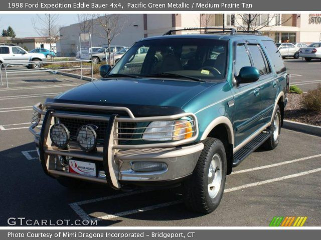 Pacific Green Metallic - 1998 Ford Expedition Eddie Bauer 4x4 ...