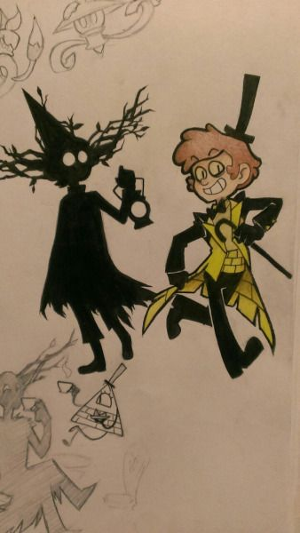 Dipper and Wirt Evil Forms | Mixology | Pinterest | Gravity falls, Crossover and Cartoon