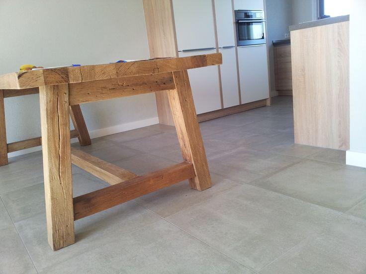 betonlook tegels viva numero 21 in 60x60 cm