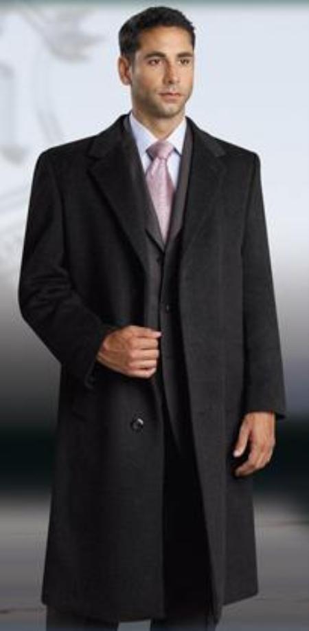 38 Inch classic model overcoats for men.