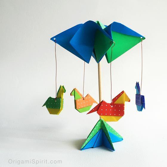 Origami Carousel