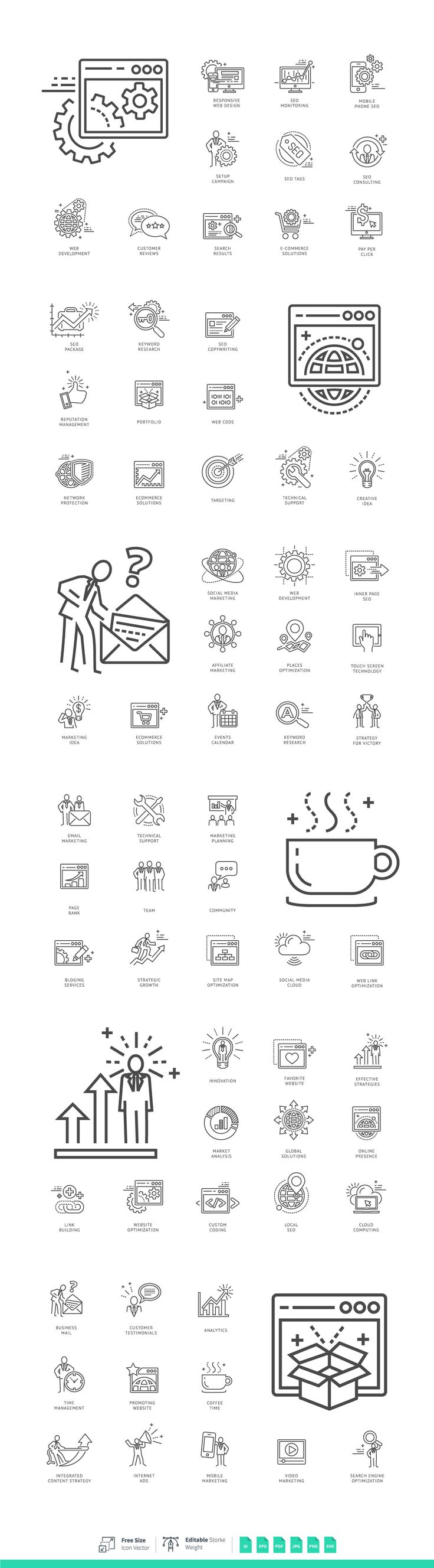 SEO Internet & Marketing Services by korawan.m on @creativemarket