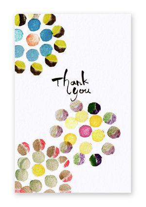 あたたかみを感じる手作りのサンクスカードは喜ばれること間違い無し♪ウェディング用のメッセージカードのおしゃれデザイン☆