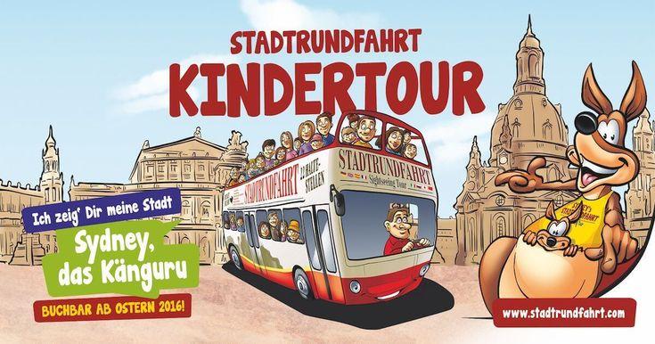 Dresden mit Kindern entdecken - Die Kinderstadtrundfahrt mit Känguruh
