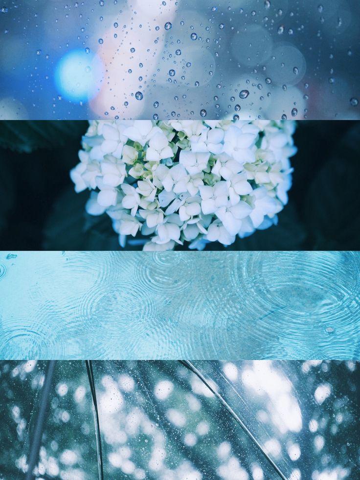 """amenoto: """"雨の日 色んな雨が 今日も動いて息をして 植物に水を与えて 誰かの涙を一緒に流してる """""""