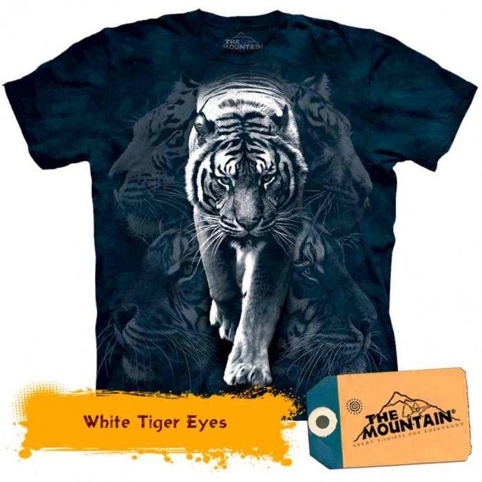 Tricouri The Mountain – Tricou White Tiger Stalk