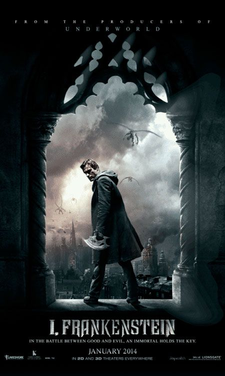 New Still From I, Frankenstein Features a Book