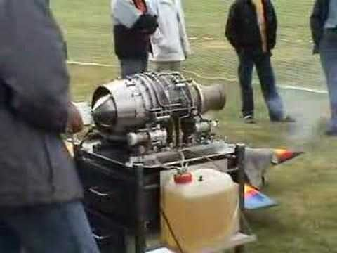 Homemade Axial Jet Engine - YouTube
