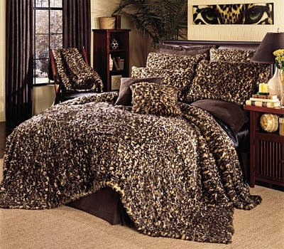 Cheetah bed, yes