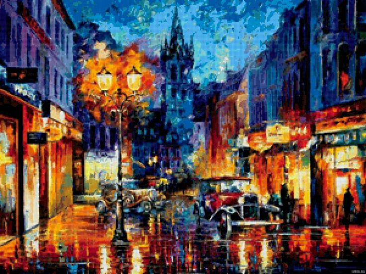 ночной город, предпросмотр