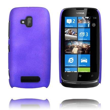 Hard Shell (Blå) Nokia Lumia 610 Deksel