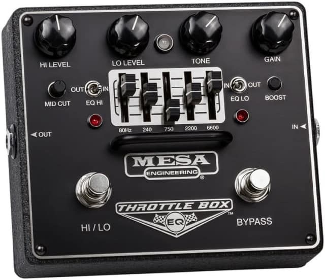 Mesa/Boogie Throttle Box EQ Equalizer Effects Pedal