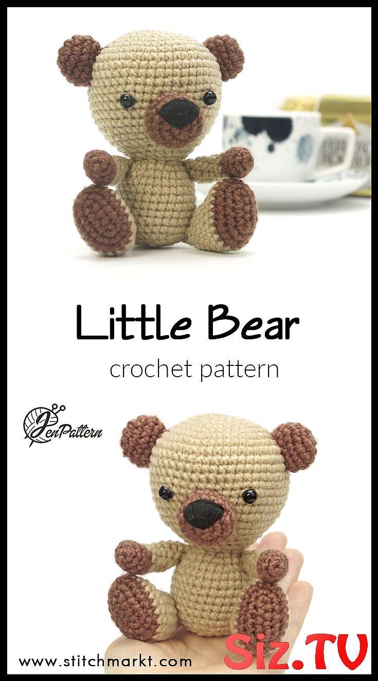 15 Crochet Teddy Bear Patterns | 1325x735