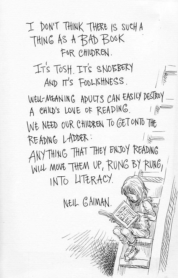 Neil Gaiman author, Chris Riddell artist