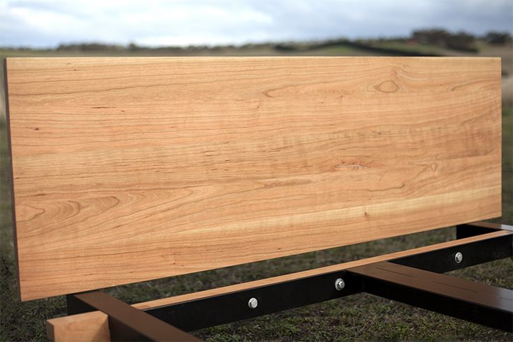 American Cherry Wood custom made bed