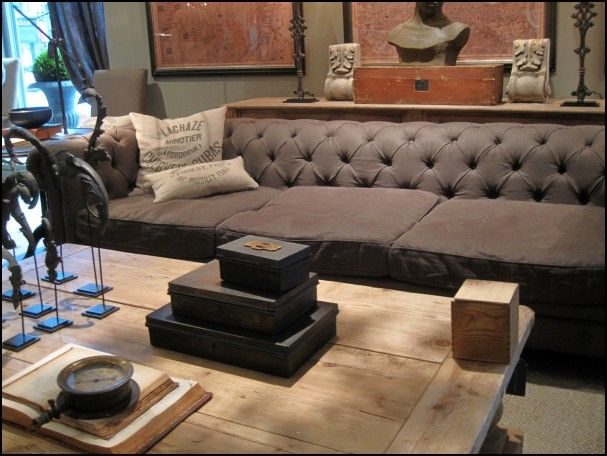 kensington restoration hardware sofa
