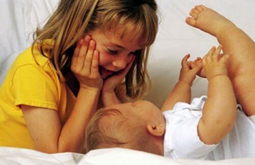 Cuando llega un nuevo bebe la mayor parte del tiempo se concentrara en el. Aqui te explicamos como lograr que el segundo hijo no se sienta menos importante