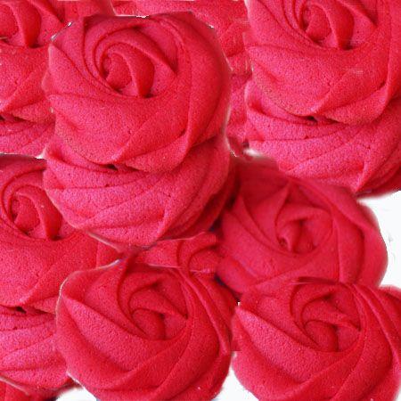 Maravillosas pastas de té, en forma de rosas o rosetones, ideales para el día de los enamorados, regalar, o cualquier momento romántico. Ingredientes: 2 huevos a temperatura ambiente 120g de azúcar...