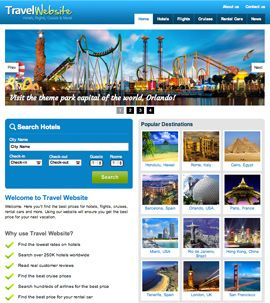Travel Booking Website For Sale  http://www.webstarter360.com/turnkey-websites-for-sale/travel/ #TurnkeyBusinessWebsite