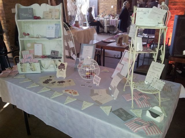 Riverside Castle Wedding Expo - Wedding Stationery Display