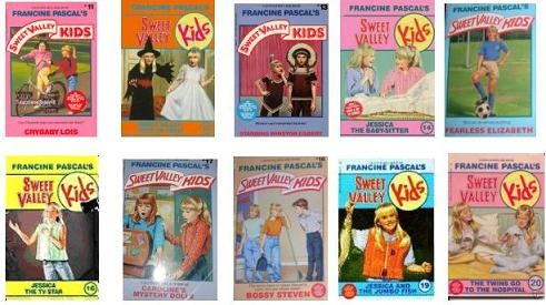 Sweet Valley Kids. I remember how our entire class used to go through 6 books in a week (before the library due date)..swapping with each other...good times! Grade 6