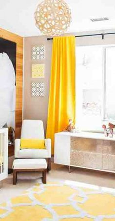 Best Best Ideas About Yellow Curtains On Pinterest Yellow With Bright Yellow  Room Part 76