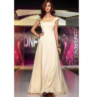 Long Satin dress by Belonda