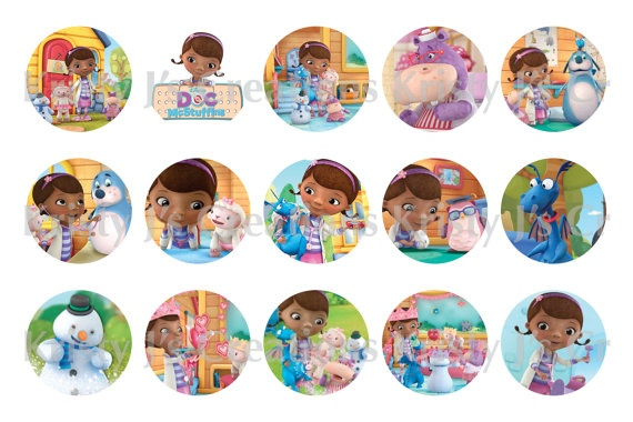 This is a graphic of Insane Doc Mcstuffins Cutouts