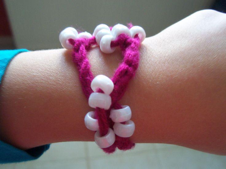 bracelet fait par ma fille ainée.