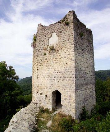 Circuit pédestre : Châteaux de terre et de pierresCharavinesItinéraire de randonnée pédestre, Sports pédestres