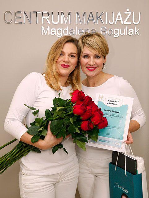 Sandra Jończyk, Szkolenie Long-Time-Liner, kurs makijażu permanentnego, Licencja I, październik 2016