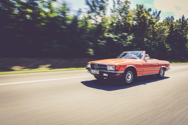 Mercedes-Benz R107 im Schwabenland | Nostalgic Classic Car Travel