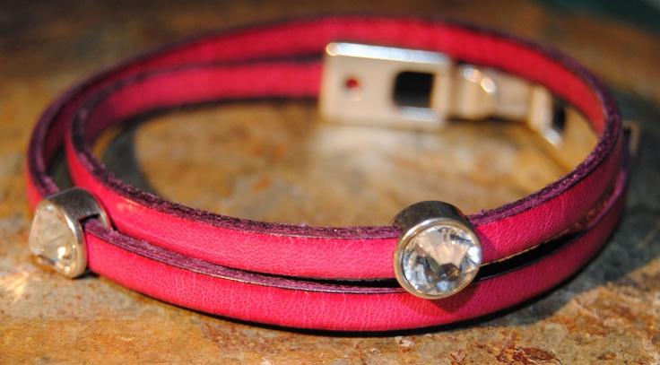 Leather bracelet. Lovely