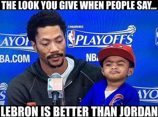 Derrick Rose's SON knows what's up! #Bulls #Cavs - http://nbafunnymeme.com/nba-memes/derrick-roses-son-knows-whats-up-bulls-cavs