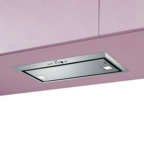Buy best Visso Large Built-In Cooker Hood, Stainless Steel Online at johnlewis.com