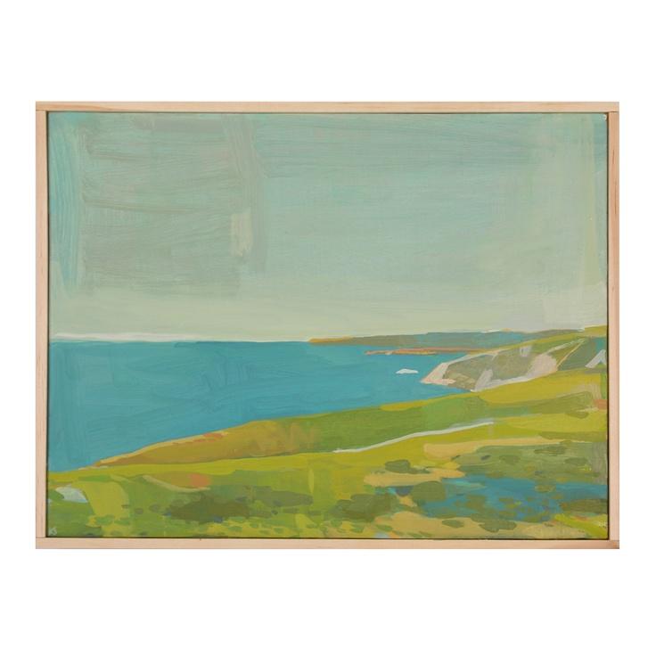"""One of my favorite painters -- Karen Smidth """"Pt Reyes Towards Pierce Pt"""""""