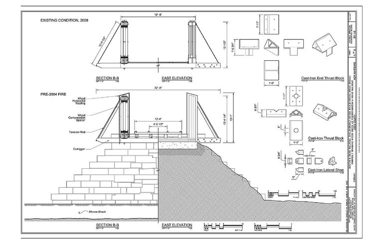 https://commons.wikimedia.org/wiki/Category:Berlin_Branch_Bridge#/media/File:Section_B-B_East_Elevation_Existing_Condition_in_2009_and_Pre-2004_Fire,_Cast-Iron_End_Thrust_Block,_Cast-Iron_Thrust_Block,_Cast-Iron_Lateral_Shoe_-_Boston_and_Maine_HAER_NH-48_(sheet_4_of_6).tif