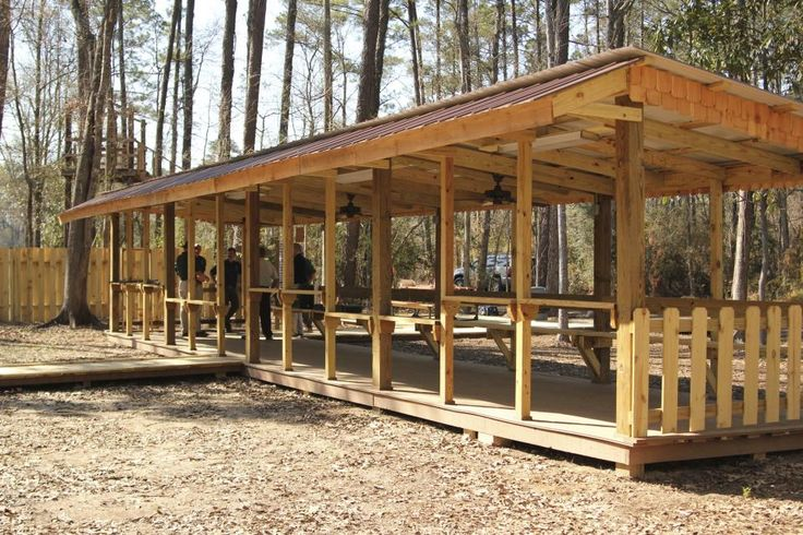 outdoor archery range plans | The new Waddill Outdoor Education Center air gun range provides 12 ...