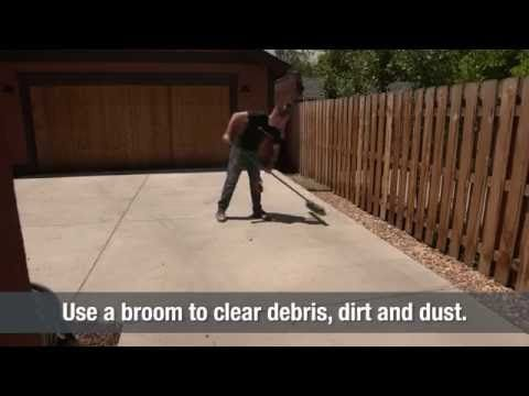 Power Wash Concrete | Home Hacks - YouTube