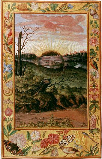 Alchemical black sun