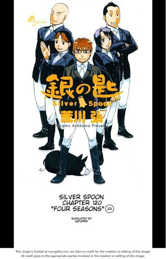 Silver Spoon chapter 120