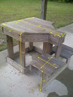 Free Shooting Bench Plans | Free Bench Plans. #shooting #bench #range